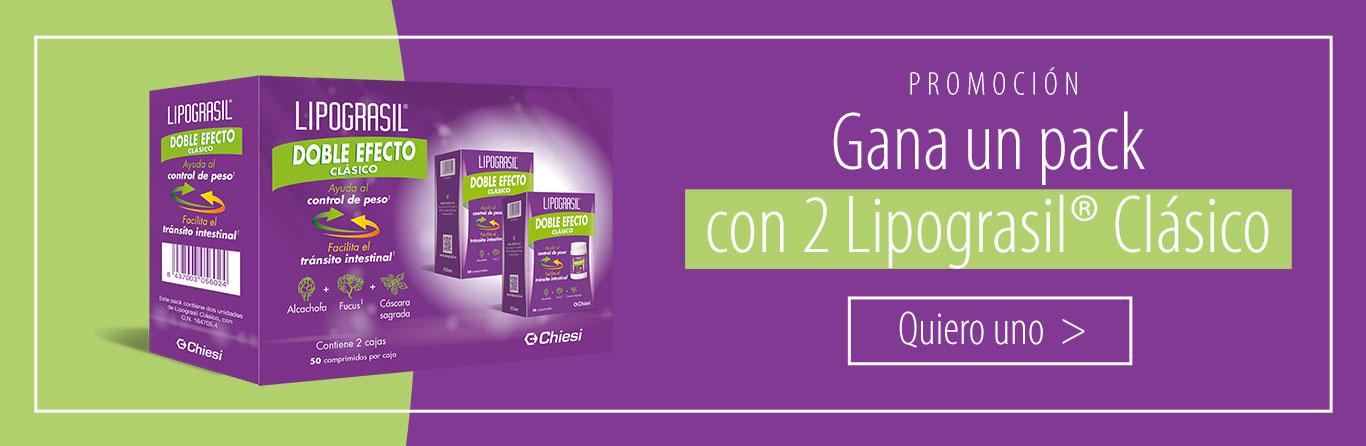Gana un pack con 2 Lipograsil® Clásico